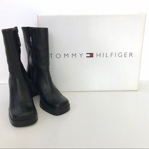 Vintage 90's - Tommy Hilfiger Mid Calf Boots